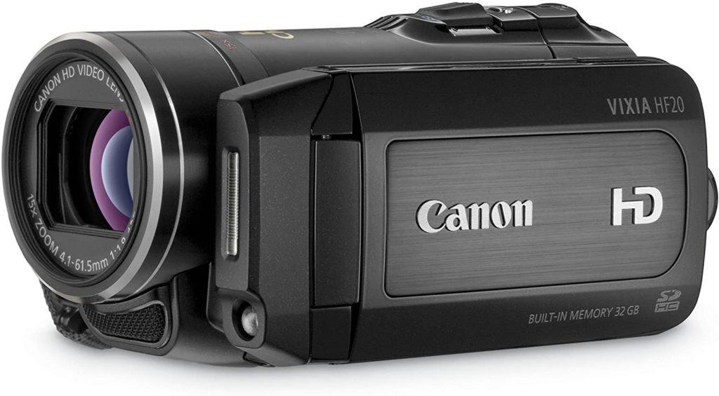 Review: Canon Vixia HF20 Camcorder